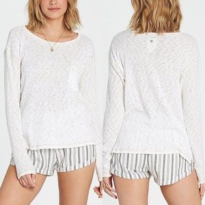 Billabong - Large - Women's Long Sleeve Knit Shirt
